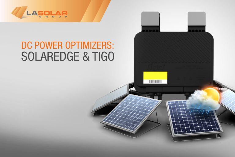 DC Power Optimizers: SolarEdge & Tigo